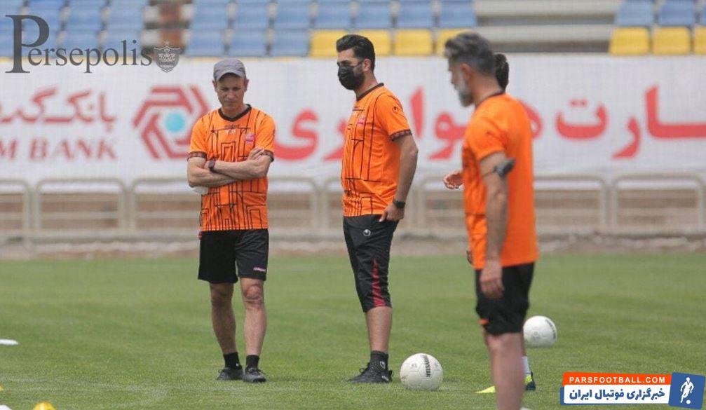 گزارش تصویری تمرین ریکاوری بازیکنان پرسپولیس پس از جنجال های اصفهان
