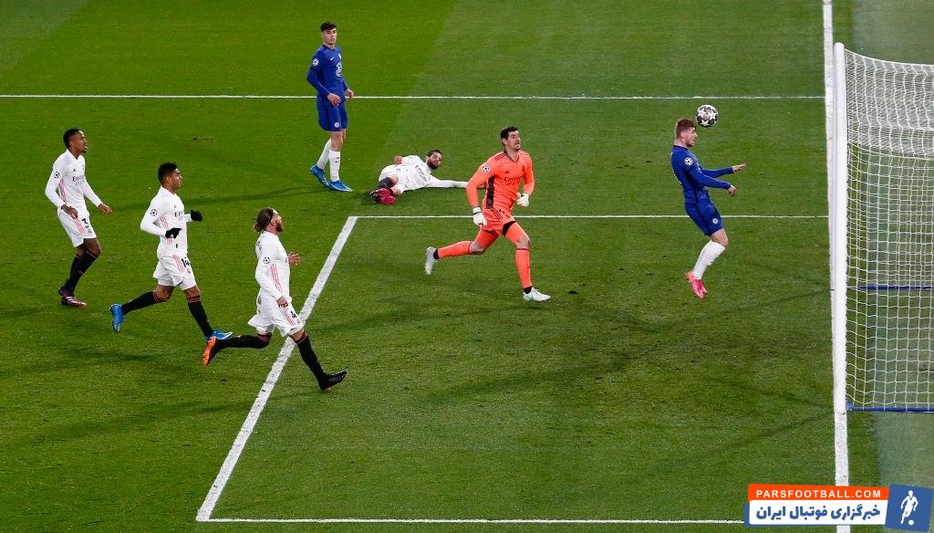 تیمو ورنر که پس از بازی رفت به شدت مورد انتقاد قرار گرفته بود، در این بازی موثر ظاهر شد و گل نخست چلسی را وارد دروازه رئال مادرید کرد.