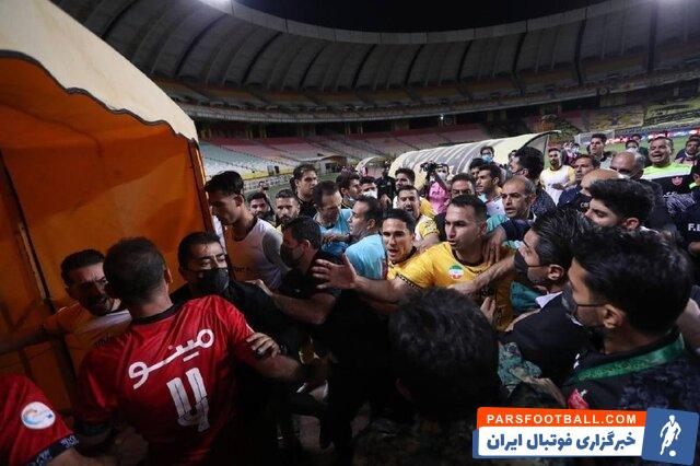 احتمال محرومیت چند بازیکن پرسپولیس در آستانه دربی پایتخت
