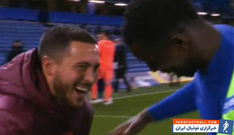 خنده ها و خوش و بش  هازارد با بازیکنان چلسی بعد از حذف رئال مادرید شدیداً در رسانه های اسپانیایی و میان هواداران رئال مادرید بازتاب داشت.