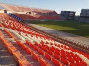 افتتاح ورزشگاه زیبا و تازه تاسیس صنعت مس کرمان در فینال جام حذفی