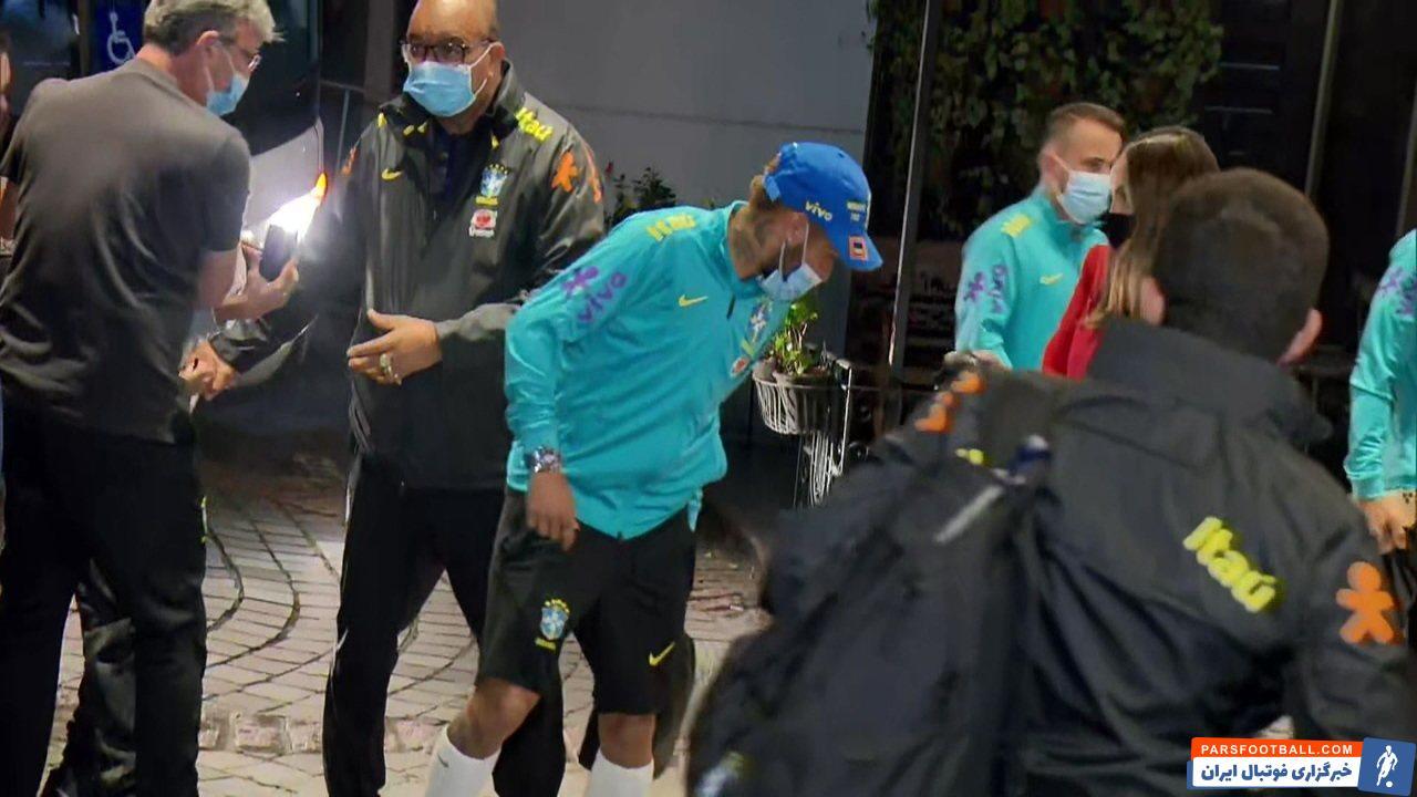 اشتیاق هواداران برزیلی به نیمار و حمله عجیب به او