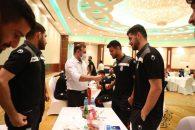 شهاب عزیزی خادم در اردوی تیم ملی