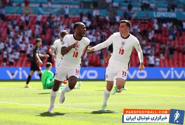 انگلیس 1 - کرواسی 0 ؛ انتقام سه شیرها با تک گل رحیم استرلینگ