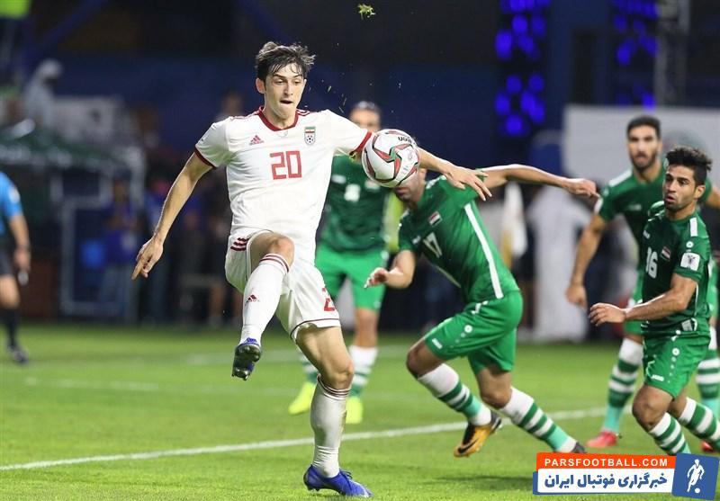 دیدار حساس تیم ملی عراق برابر ایران