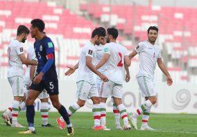 جشنواره گل تیم ملی ایران مقابل کامبوج در مقدماتی جام جهانی 2022 قطر