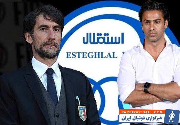 خبر خوش برای هواداران استقلال ؛ حضور دستیار ایتالیایی در جمع آبی ها قطعی شد