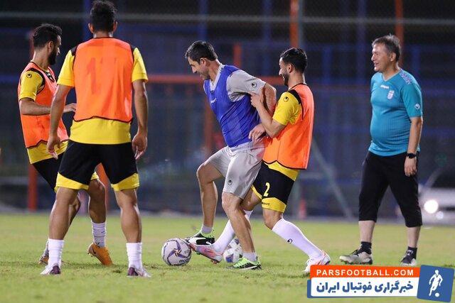 تیم ملی ایران پس از برد مقابل بحرین امشب یک تمرین سبک را برگزار کرد و بازیکنان تیم ملی در این تمرین ، طراوت و شادابی خاصی داشتند.