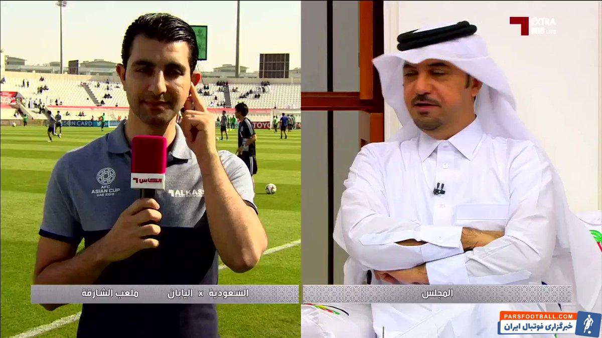 عمر قحطان خبرنگار عراقی شبکه الکاس قطر از کنفدراسیون فوتبال آسیا بابت دادن میزبانی بازی های مقدماتی جام جهانی به بحرین اعتراض کرد.