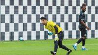 علیرضا بیرانوند دروازهبان تیم ملی ایران که به تازگی راهی بواویشتا شده است، نخستین بازی خود را با پیراهن این تیم انجام داد.