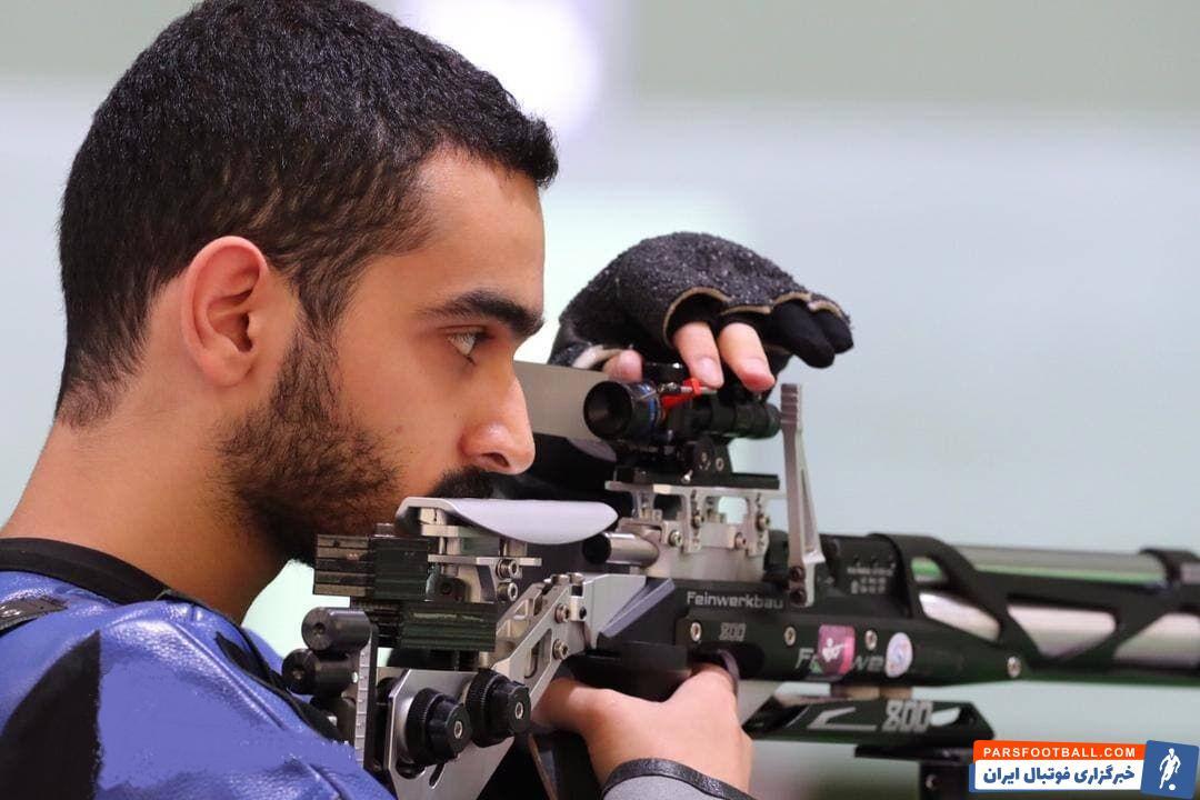 مهیار صداقت ملیپوش تفنگ کشورمان امروز در مصاف با ۴۶ تیرانداز با ۶۲۹.۱ امتیاز نهم شد و از راهیابی به فینال بازماند.