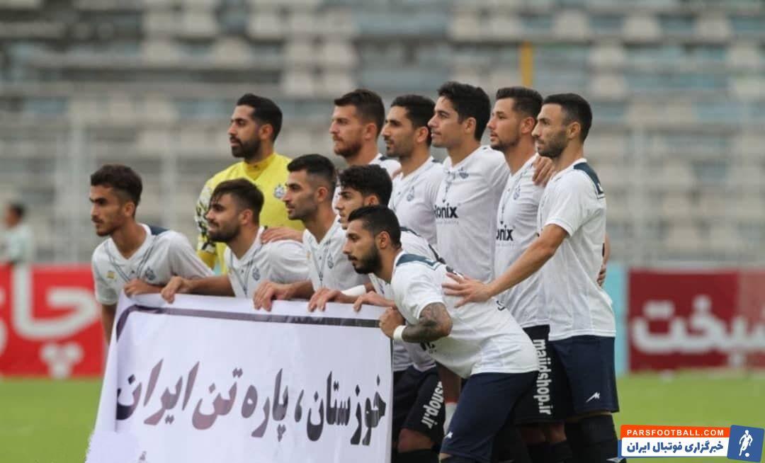 یکی از جملات جالب سرمربی ملوان که طی هفته اخیر وایرال شده بود، مربوط به جنوب بود تا انزلی نشان دهد خوزستان را تنها نمیگذارد.