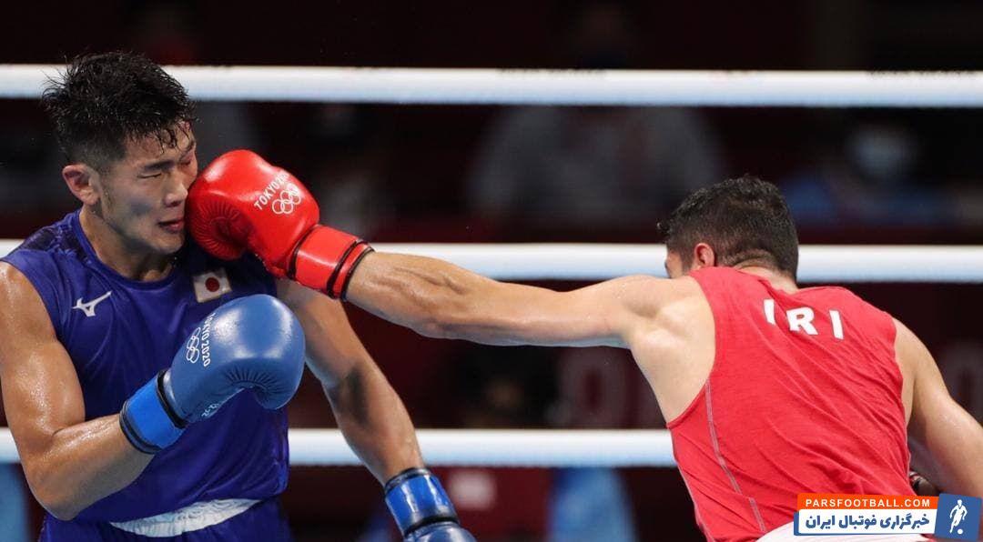 شاهین موسوی در وزن ۷۵ کیلوگرم مسابقات بوکس المپیک ۲۰۲۰ توکیو به مصاف یوتو موری واکی از ژاپن رفت وی  اولین مسابقه خود را تجربه میکرد.