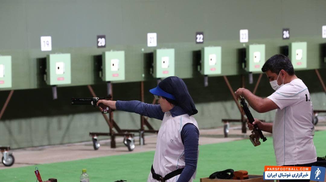 مسابقات تیراندازی با برگزاری رقابت های مرحله نیمه نهایی در بخش میکس تپانچه بادی ١٠ متر با حضور جواد فروغی و هانیه رستمیان پیگیری شد.