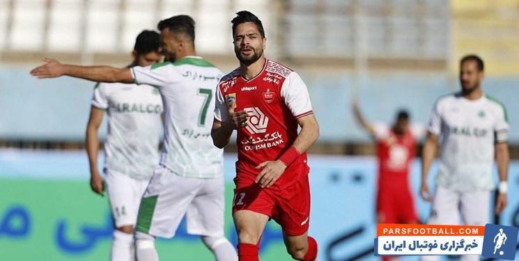 کمال کامیابینیا زنند تک گل پرسپولیس در بازی رفت این تیم مقابل آلومینیوم اراک، غایب تیمش در بازی برگشت دو تیم است.