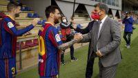 اعلام رسمی باشگاه بارسلونا : لیونل مسی نوکمپ را ترک میکند