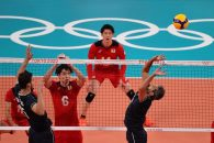 المپیک 2020 توکیو ؛ تیم ملی والیبال ژاپن 3 - تیم ملی والیبال ایران 2