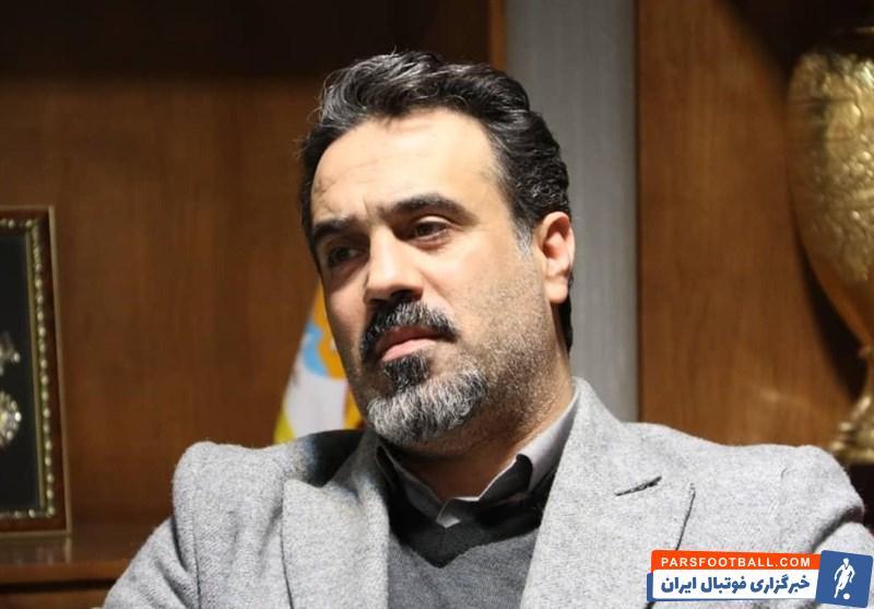 اعلام برکناری اسماعیل گودرزی از معاونت حقوقی باشگاه تراکتور در مراسم معارفه فراز کمالوند