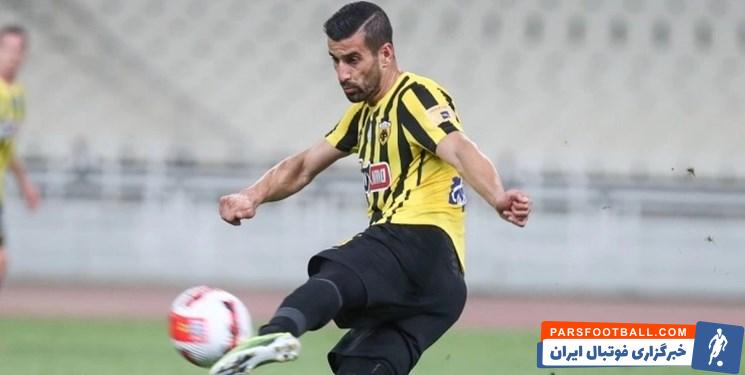 احسان حاج صفی کاپیتان تیم ملی در آستانه بازی های جام جهانی مصدوم شد