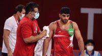 محمدهادی ساروی نماینده وزن ۹۷ کیلوگرم تیم کشتی فرنگی ایران در دومین دیدار خود در بازیهای المپیک توکیو به پیروزی رسید و راهی نیمه نهایی شد.