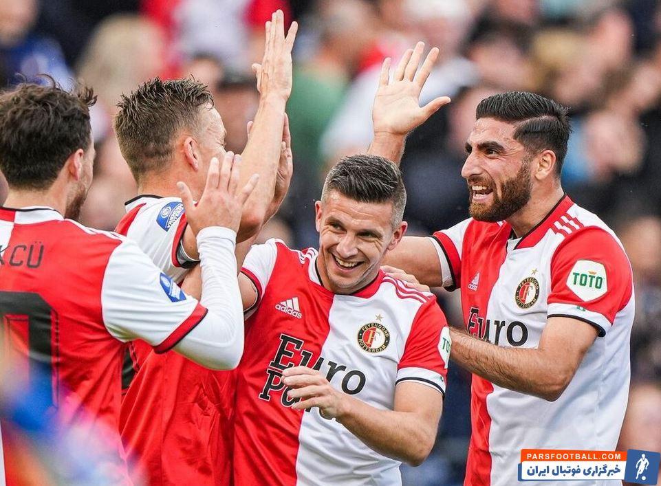 پیروزی 2 بر 1 فاینورد مقابل اتلتیکو مادرید در حضور یک نیمهای علیرضا جهانبخش