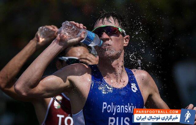 دوپینگ ورزشکار سه گانه روسیه در المپیک مثبت شد
