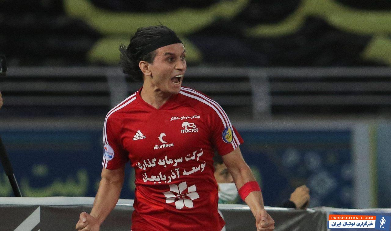 تمدید قرارداد اکبر ایمانی هافبک دفاعی تیم تراکتور برای لیگ برتر 21