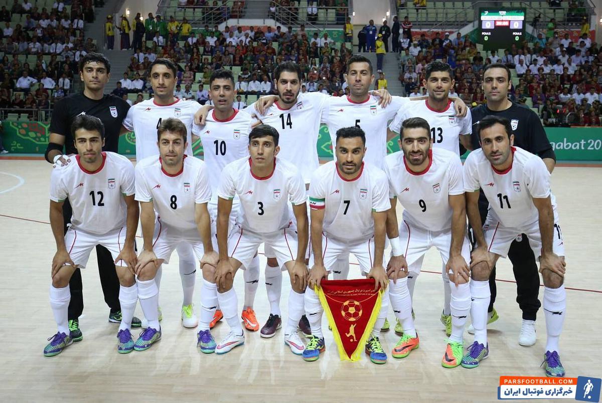 برد تاریخی فوتسال ایران مقابل ازبکستان و قهرمانی در مسابقات آسیایی 2017 + سند