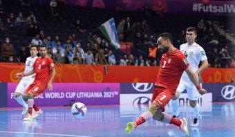 پیروزی پرگل و 9 بر 6 تیم ملی فوتسال ایران مقابل ازبکستان در مرحله یک هشتم نهایی جام جهانی لیتوانی