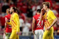 واکنش فرانکی دی یونگ به شکست بارسلونا