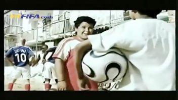 تبلیغ آدیداس با حضور ستاره های فوتبال مانند زیدان، کاکا و بقیه کاملا خلاقانه انجام شده است