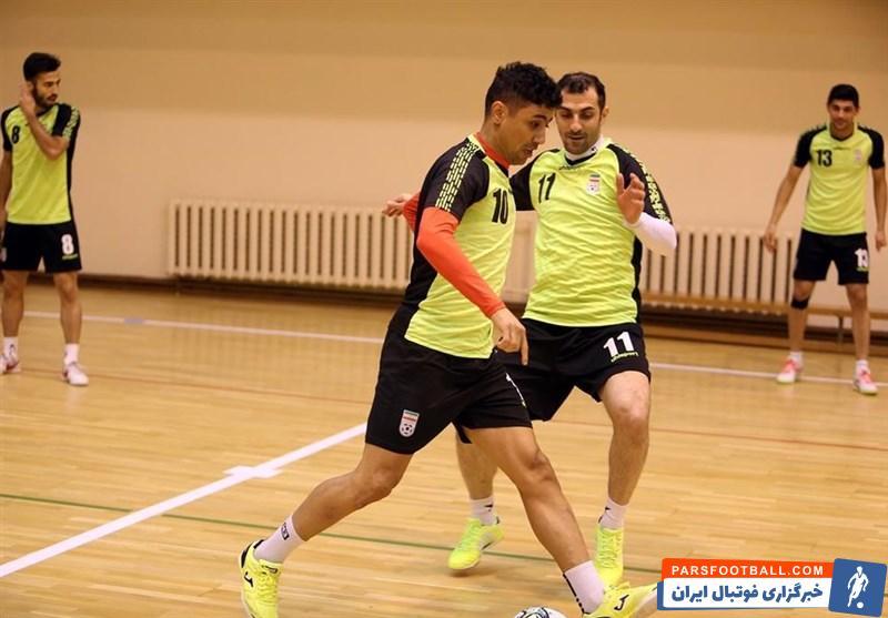 بازگشت حسین طیبی به تمرینات گروهی تیم ملی فوتسال