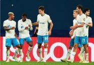 پیروزی 4 بر 0 زنیت مقابل مالمو سوئد در لیگ قهرمانان اروپا و حضور 14 دقیقه ای سردار آزمون