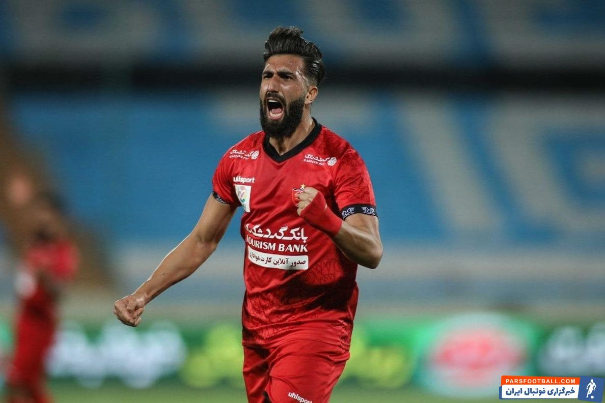 علی شجاعی مدافع چپ پرسپولیس غایب بزرگ این تیم در تاجیکستان خواهد بود