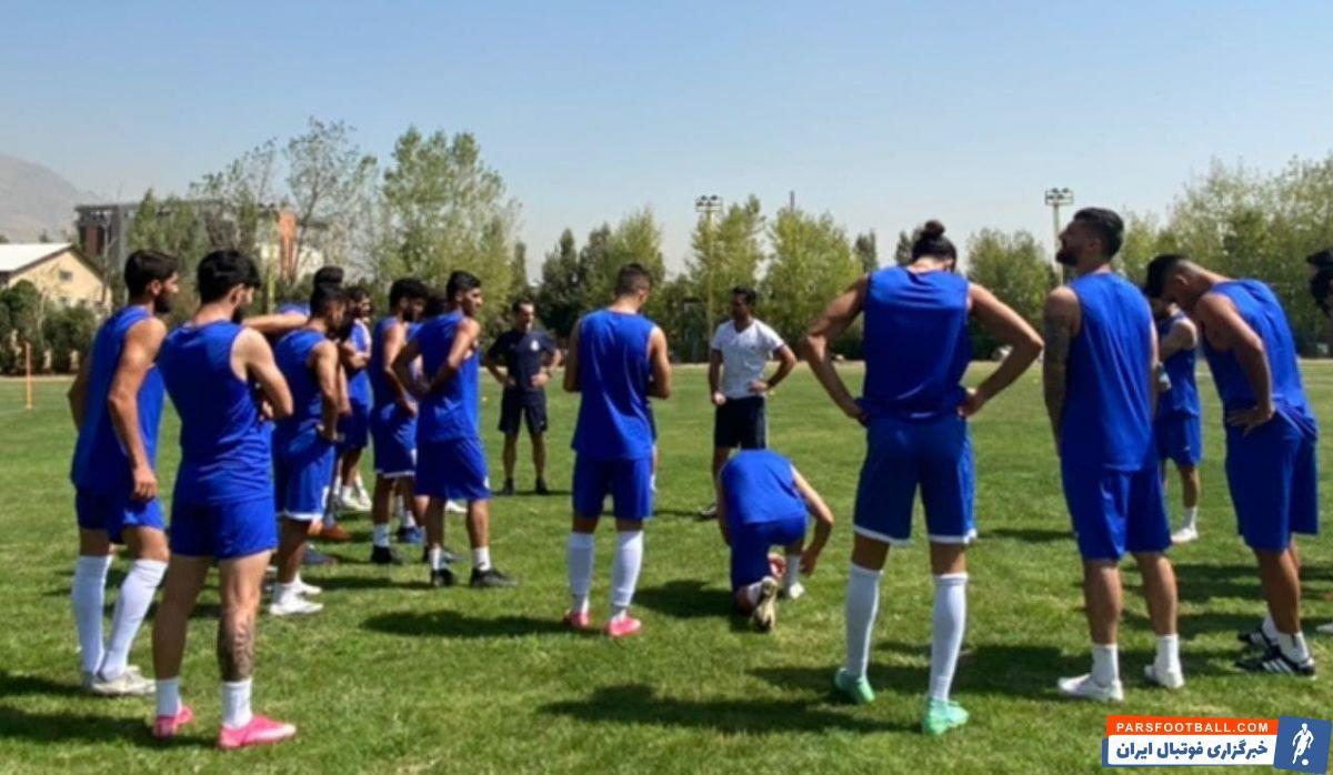 در تصاویری که رسانه رسمی باشگاه استقلال از تمرین امروز آبیها منتشر کرده، فرهاد مجیدی هم در تمرین حاضر بوده است.