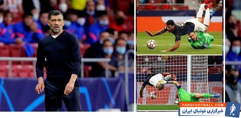 کونسیسائو سرمربی تیم فوتبال پورتو به گل مردود مهاجم ایرانیاش در بازی مقابل اتلتیکومادرید در لیگ قهرمانان اروپا واکنش نشان داد.