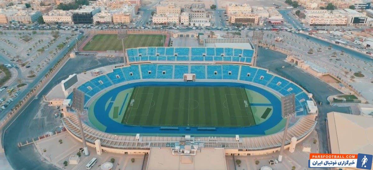بنا بر اعلام رسمی باشگاه الهلال، دیدار این تیم مقابل پرسپولیس در استادیوم امیر فیصل بن فهد در شهر ریاض برگزار خواهد شد.