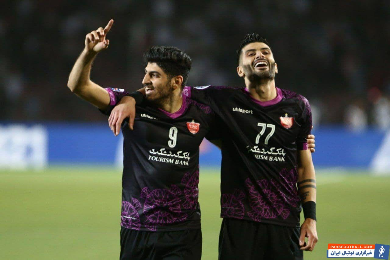 مهدی ترابی و سعید آقایی از تیم پرسپولیس در تیم منتخب مرحله یک هشتم قرار گرفتند
