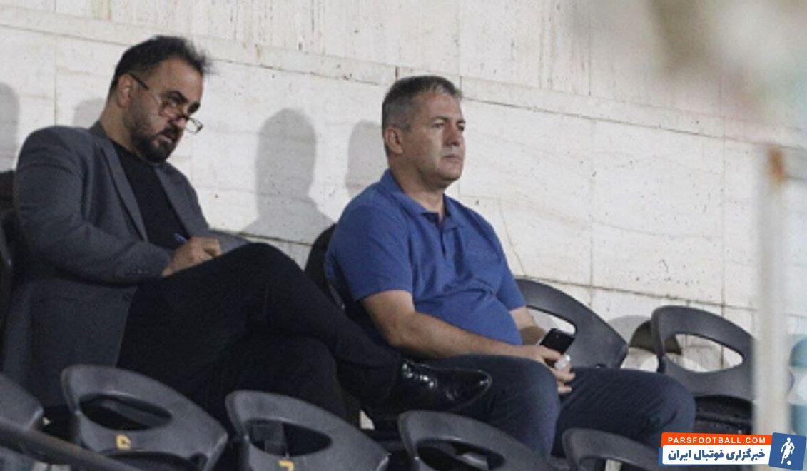 دراگان اسکوچیچ میهمان ویژه بازی پرسپولیس و الهلال در لیگ قهرمانان آسیا