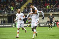 لیگ کنفرانس اروپا ؛ زوریا 0-3 رم ؛ پیروزی قاطع شاگردان مورینیو در حضور اللهیار صیادمنش و زاهدی