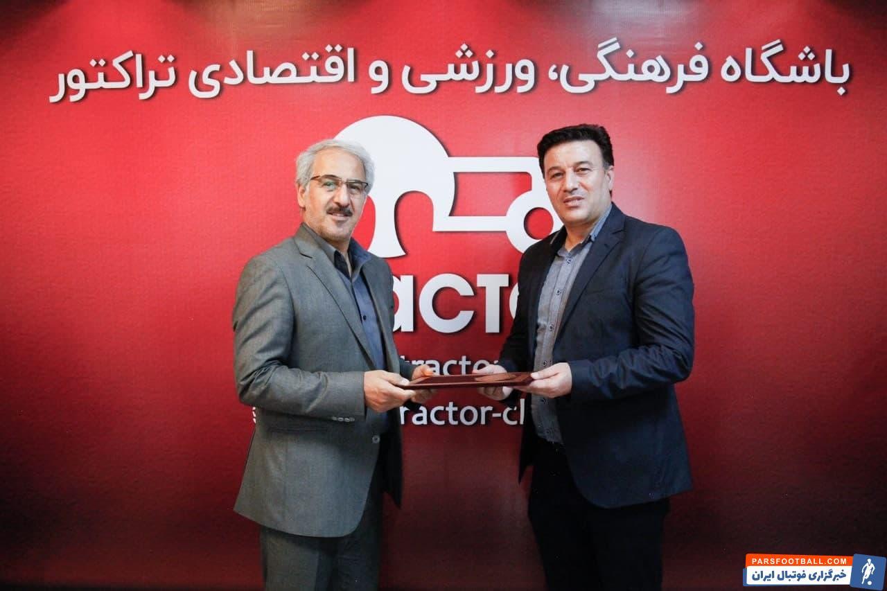 کاظم محمودی از پیشکسوتان تراکتور و فوتبال تبریز است که سابقه حضور در این باشگاه به عنوان مدیر و مربی را نیز در کارنامه خود دارد.