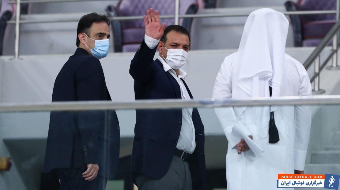 شهاب الدین عزیزی خادم رئیس فدراسیون فوتبال : ایران از برگزاری جام جهانی در دو سال یک بار حمایت می کند